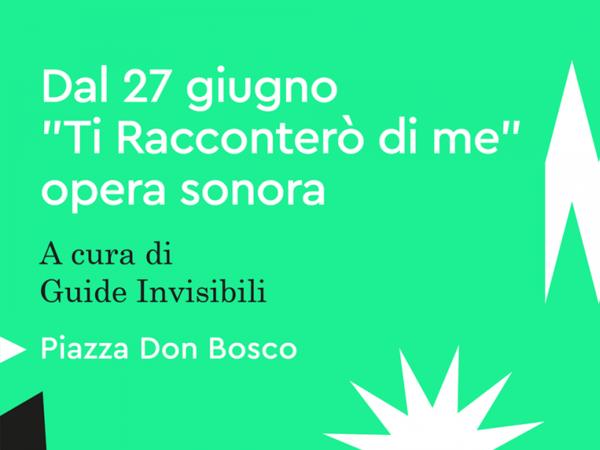 Ti racconterò di me, Piazza Don Bosco, Roma