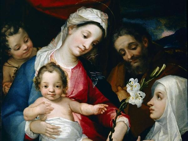 Alessandro Casolami, <em>Sacra Famiglia con San Giovannino e Santa Caterina d'Alessandria</em>