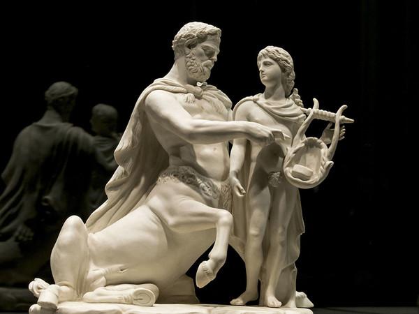 Chirone e Achille