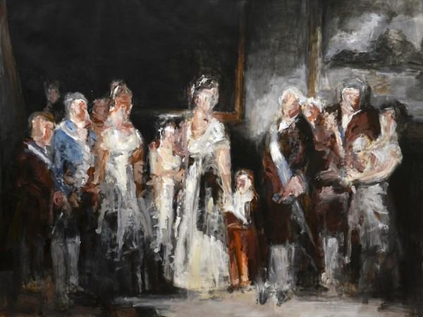 Riccardo Paternò Castello, Da Goya, La famiglia di Carlo IV