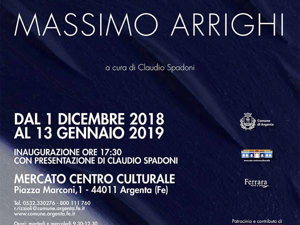Massimo Arrighi, Centro Culturale Mercato, Argenta (FE)