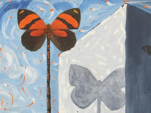 Salvador Dalí, Banderoles en forme de papillon