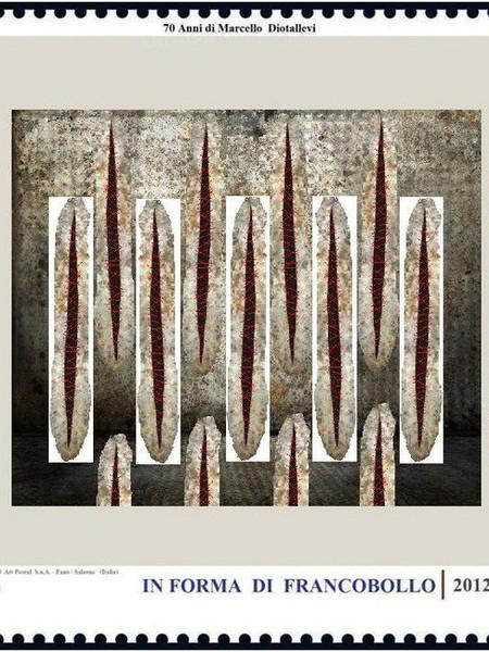 In forma di francobollo, Spazio Ophen Virtual Art Gallery, Salerno