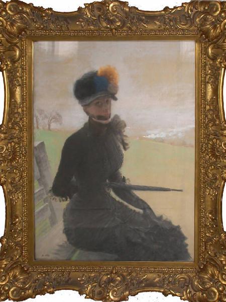 La Femme aux pompons