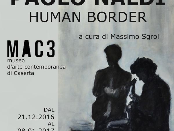 """Risultati immagini per Paolo Naldi """"Human Border"""""""