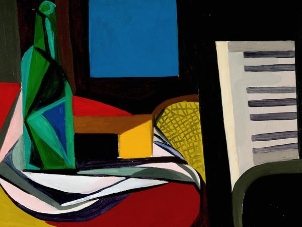 Renato Guttuso, Natura morta con pianoforte, 1947, Olio su tela | Courtesy of Fondazione Magnani-Rocca 2020