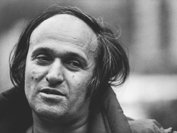 Uliano Lucas, Mario Schifano, Bologna, 1984