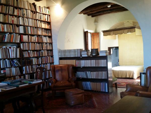 Casa museo Villa Brandi a Vignano, Libreria