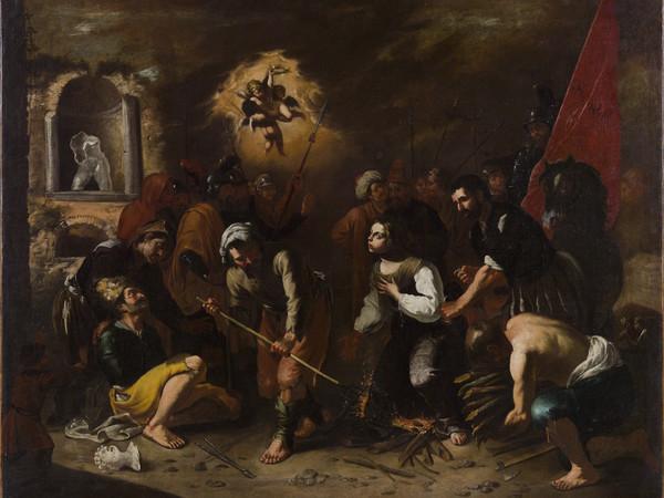 Salvator Rosa, Martirio di Sant'Agata
