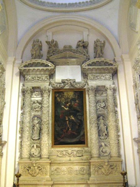 Altare dell'Arcangelo Michele