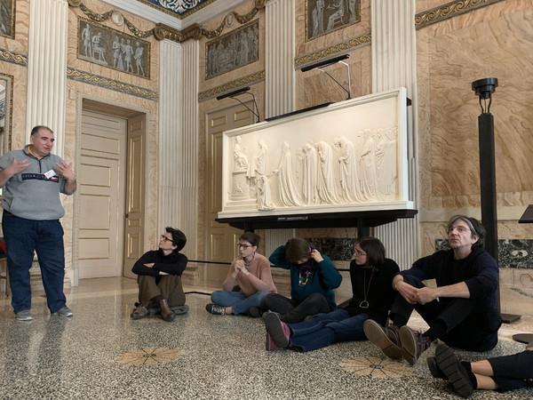 Alberto Gianni racconta Antonio Canova, Team building alle Gallerie d'Italia, gennaio 2020