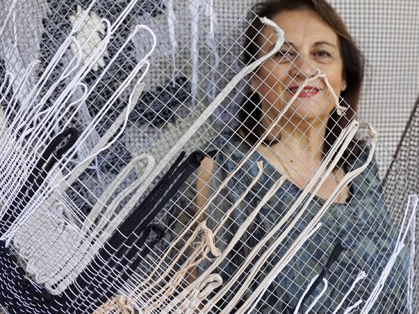 L'artista Rosa Spina