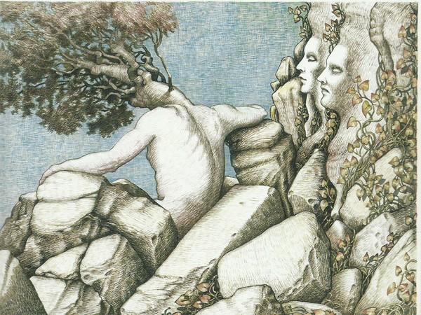 Augusto Daolio, Dipinto a china