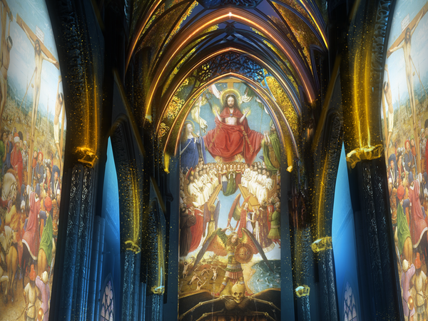 <em>Lights on Van Eyck</em> | © Create.eu