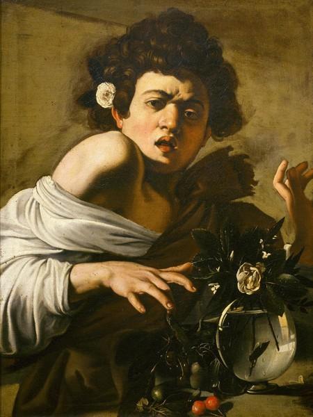 Michelangelo Merisi da Caravaggio, Ragazzo morso dal ramarro, 1593-94