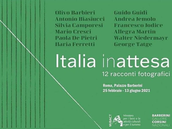 Italia in-attesa. 12 racconti fotografici, Palazzo Barberini, Roma