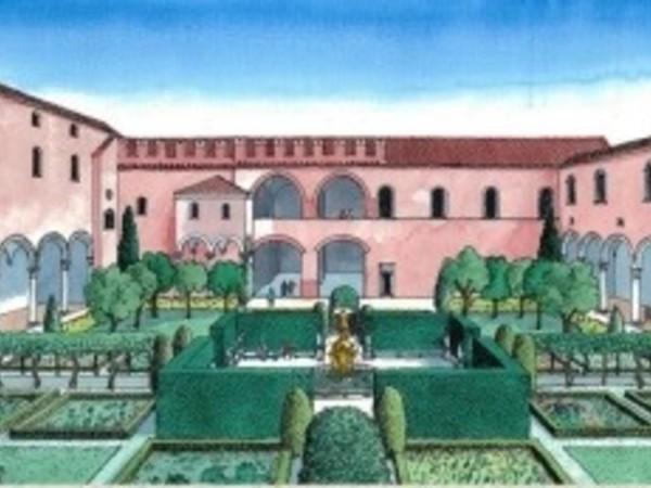 Riccardo Merlo, Disegno ricostruttivo del Giardino delle Duchesse