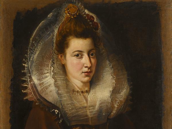 Peter Paul Rubens (1577 - 1640), Ritratto di una giovane donna con una catena, 1505-1506, Olio su tela, 66 x 81.3, Collezione privata