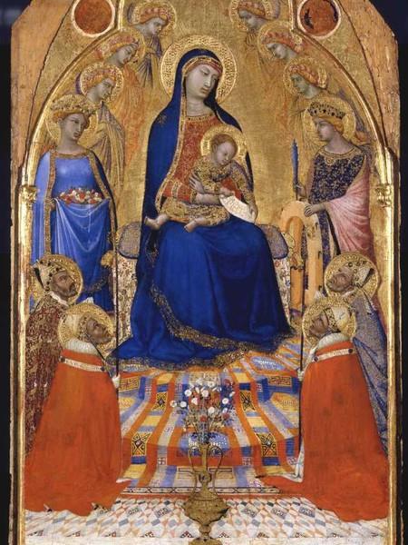 La Grande Piccola Maestà, Ambrogio Lorenzetti