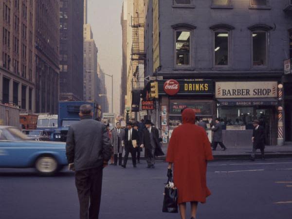 Tina Zuccoli, New York, 1964, diapositiva colore, 6x6 cm