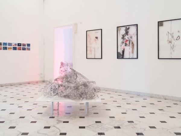Elisa Montessori, veduta installazione Vita, Morte, Miracoli, 2018
