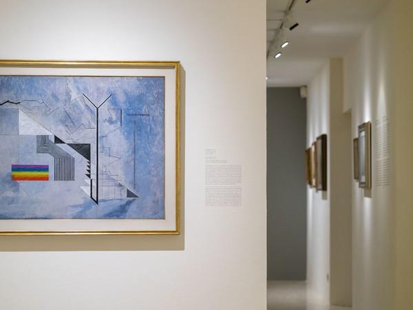 Osvaldo Licini. Che un vento di follia totale mi sollevi, Collezione Peggy Guggenheim, Venezia
