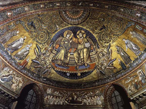 Incoronazione e Storie della Vergine