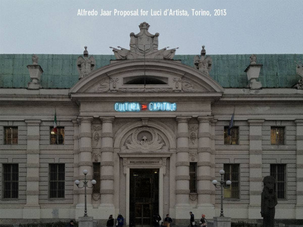 Luci d'artista 2013. XVI Edizione, Torino