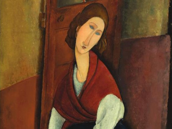 Amedeo Modigliani, <em>Portrait de Jeanne H&eacute;buterne</em>
