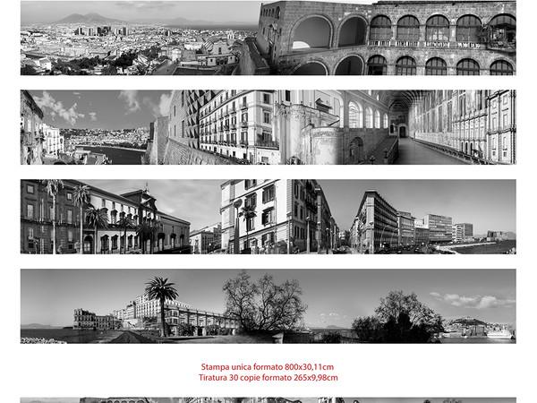 """Metamorfosi Reloaded edizione """"Expo!"""", il panorama di Napoli più lungo del mondo"""