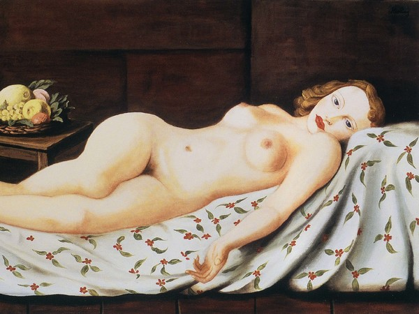 Moïse Kisling, Grande nudo disteso (Portrait d'Ingrid), 1929-1932 circa, Olio su tela, 110 x 65 cm, Argentina, Collezione Dr. Juan del Gados | Courtesy of Palazzo Ducale, Genova 2017