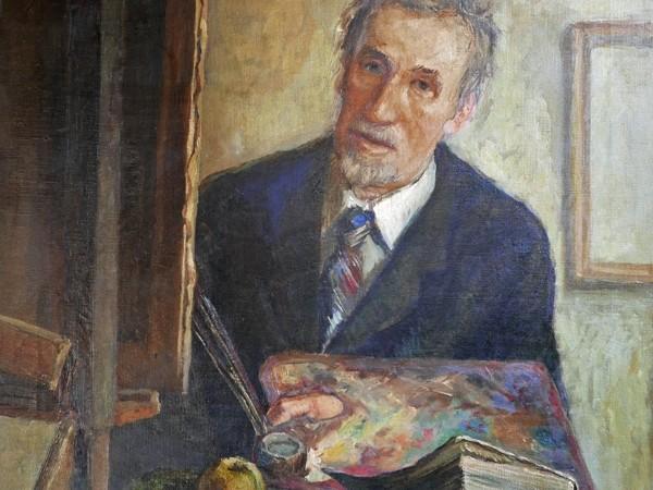 Silvio di Volo, Ritratto del padre Eligio