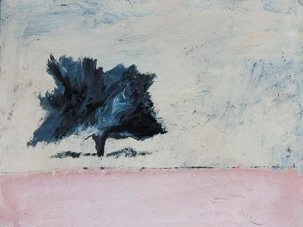 Carlo Mattioli, Paesaggio, 1971, Olio su tela, 40 x 45 cm, Collezione privata | Courtesy of Labirinto della Masone, Fontanello, Parma