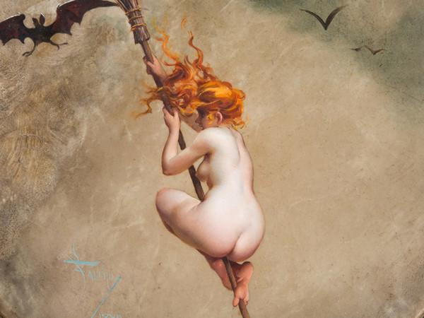 Louis Ricardo Fal&eacute;ro,<em> La Sorci&eacute;re</em>, 1882, Collezione privata