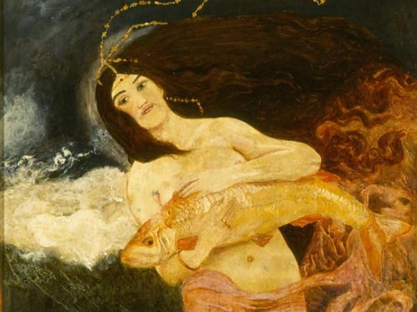 Sacha Schneider, Astarte, 1901-1904, Collezione privata
