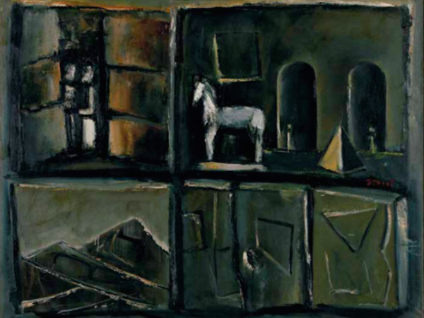 Mario Sironi, Composizione con cavallo