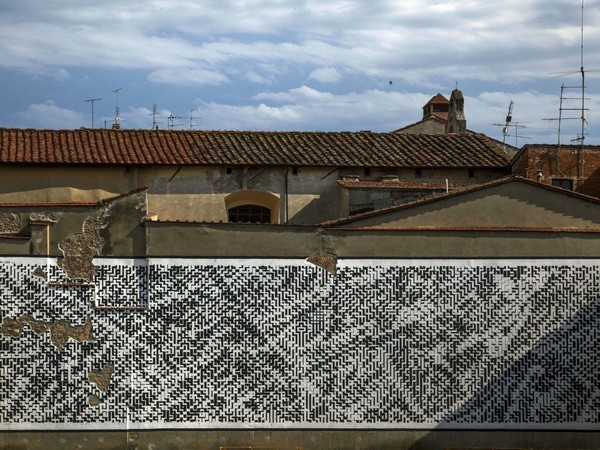 Sten Lex, <em>Paesaggio Urbano V</em>, Arezzo, 2016 | Courtesy of Sten Lex<br />
