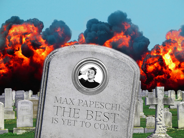 <em>Max Papeschi - The Best Is Yet To Come!</em>, Milano 2016