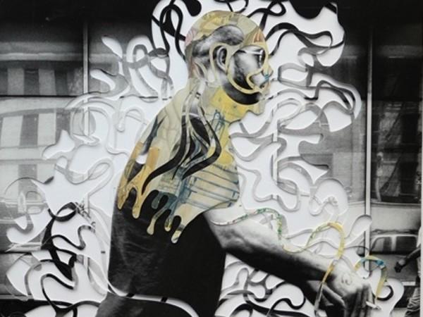 Marco Gallotta e Claudio Napoli, Sidewalk Diaries #1, 2019. Photography, papercutting, collage and wax