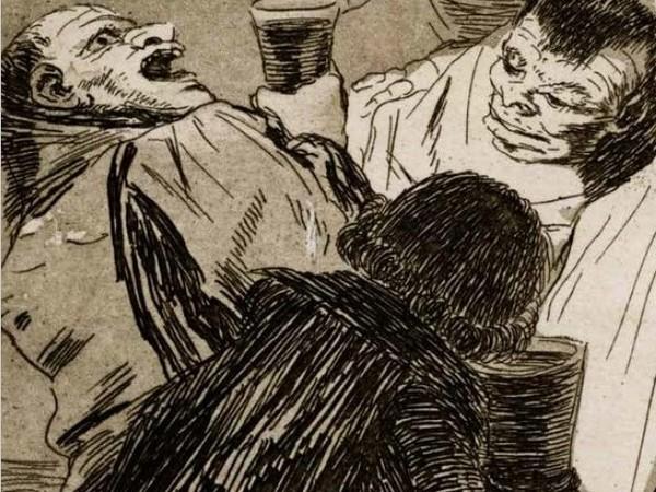 Francisco de Goya, Capricho 79, Nadie nos ha visto, 1796-1799