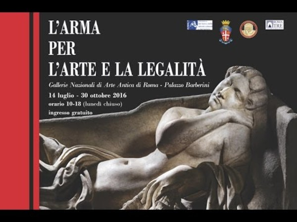 L'Arma per l'Arte e la Legalità, Galleria Nazionale d'Arte Antica in Palazzo Barberini , Roma