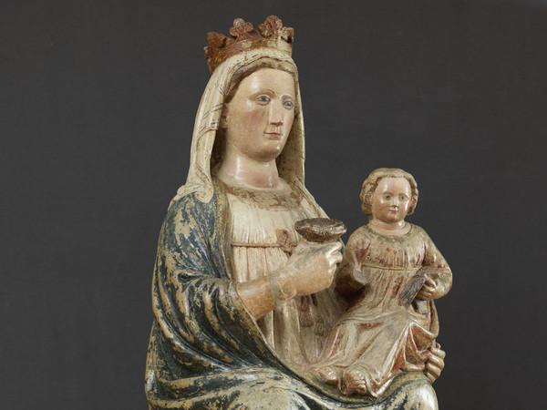 Madonna in blu. Una scultura veronese del Trecento