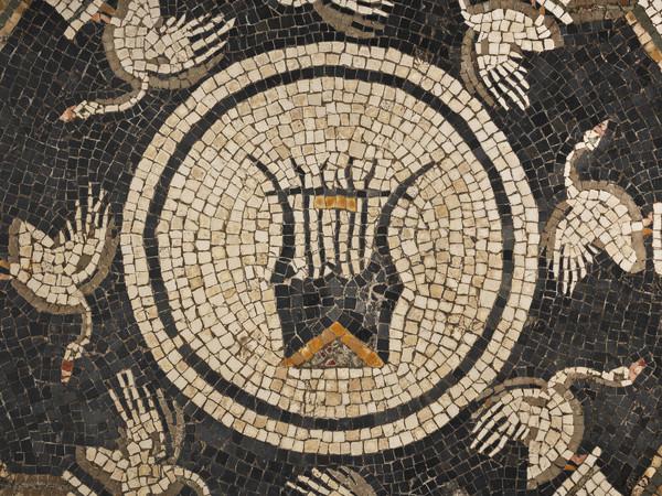 Mosaico con cigni e lira, Musei Civici di Palazzo Farnese, Piacenza I Ph. C. Vannini
