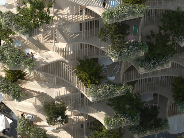Sneak peek of the project. A new generation of towers I Ph. Nicolas Laisné