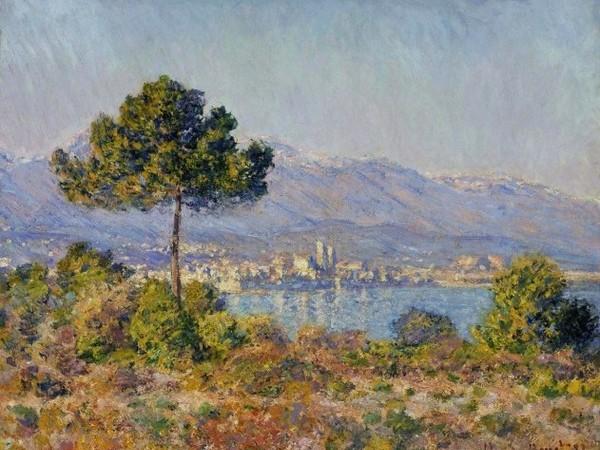 Claude Monet, Antibes vista dal Plateau Notre-Dame, 1888