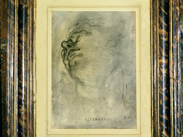Giorgio De Chirico,  Alexandros, 1921, matita su carta, Museo Casa Siviero