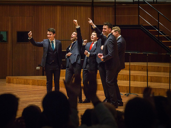 King's Singers, concerto