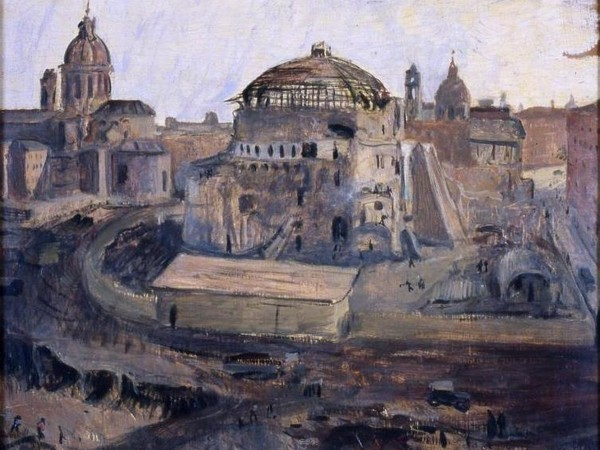 Eva Quajotto, Demolizioni intorno all'Augusteo, 1937