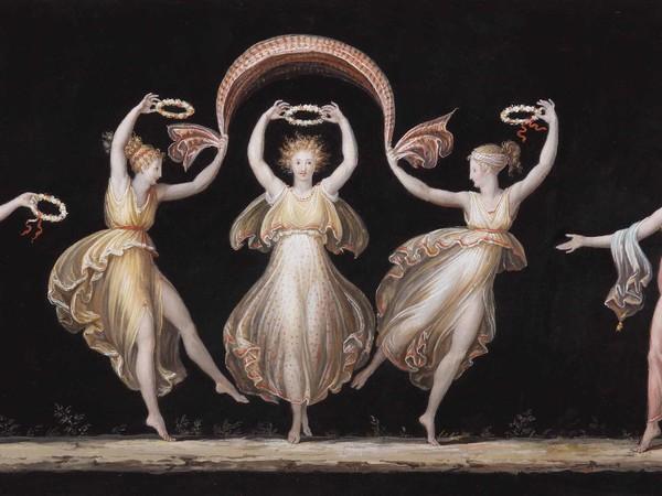 Antonio Canova, Danzatrici, Tempera, 1799, Gypsotheca e Museo Antonio Canova, Possagno