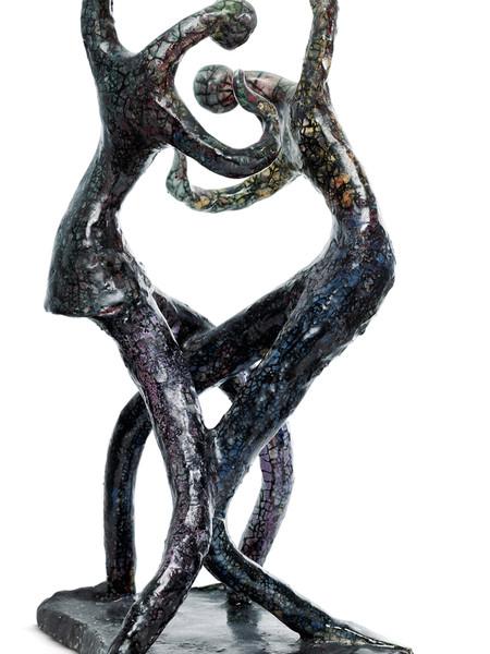 Hanna e Leszek Nowosielski, Figure in ceramica del ciclo Balletto, 1991